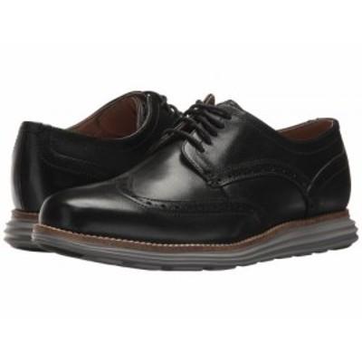 Cole Haan コールハーン メンズ 男性用 シューズ 靴 オックスフォード 紳士靴 通勤靴 Original Grand Shortwing Black【送料無料】