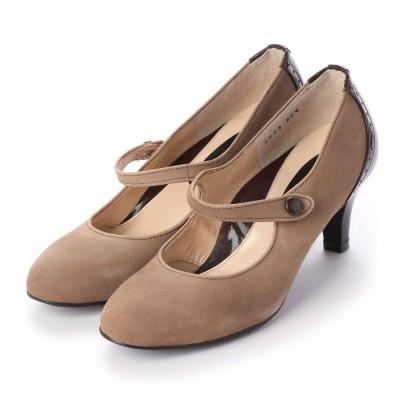 シューズラウンジ アウトレット shoes lounge OUTLET パンプス 3146934DBGS/ (ベージュ)