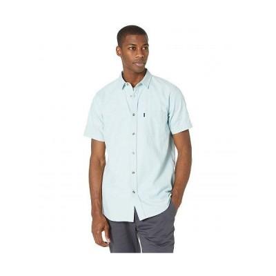 Rip Curl リップカール メンズ 男性用 ファッション ボタンシャツ Ourtime Short Sleeve Woven - Light Blue