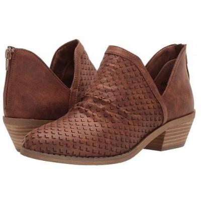 Report レポート レディース 女性用 シューズ 靴 ブーツ アンクル ショートブーツ Dion - Tan