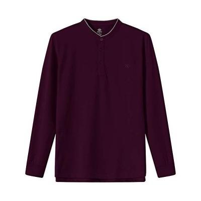 MoFiz Mens Polo Shirts Long Sleeve Polo Shirts Golf Sports Shirts Pullover
