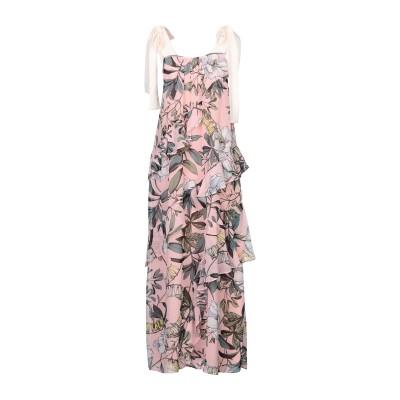 LE COEUR TWINSET ロングワンピース&ドレス ピンク S ポリエステル 100% ロングワンピース&ドレス