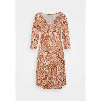 クリーム ワンピース レディース トップス LULLA DRESS - Day dress - rose brown