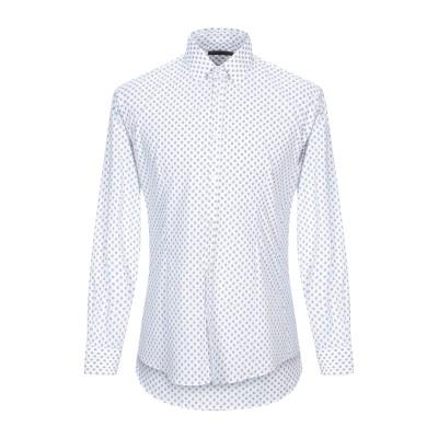 ダニエル アレッサンドリーニ DANIELE ALESSANDRINI シャツ ホワイト 40 コットン 100% シャツ
