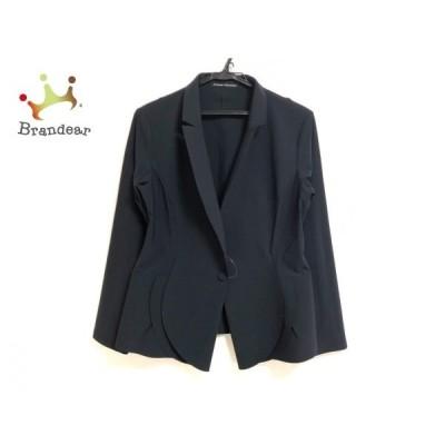 ヒロココシノ HIROKO KOSHINO ジャケット サイズ40 M レディース 美品 - 黒 長袖/秋 新着 20200516