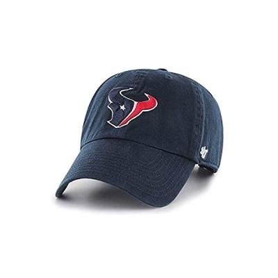 '47 Brand NFL カジュアルキャップ (CLEAN UP CAP/クリーンナップ キャップ) ヒューストン・テキサンズ