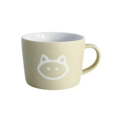 マグカップ 子供用 コップ プチママン キッズマグ キャット ネコ  陶器製