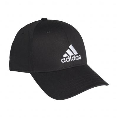 アディダス ベースボール キャップ BBALLCAPCOT FK0891 帽子 : ブラック adidas
