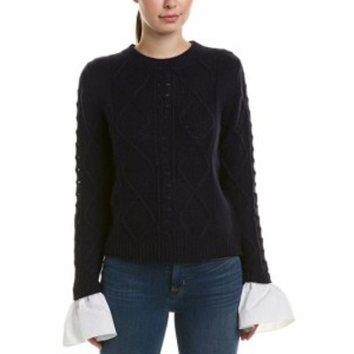 ファッション トップス English Factory Cable-Knit Sweater
