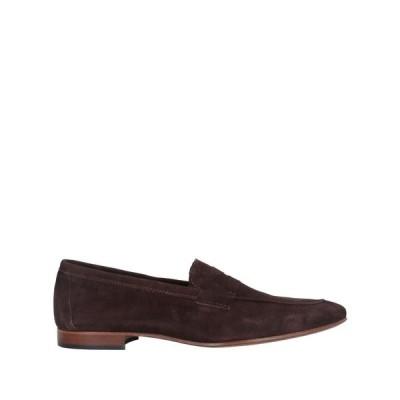 アンジェロ パロッタ ANGELO PALLOTTA メンズ ローファー シューズ・靴 loafers Dark brown