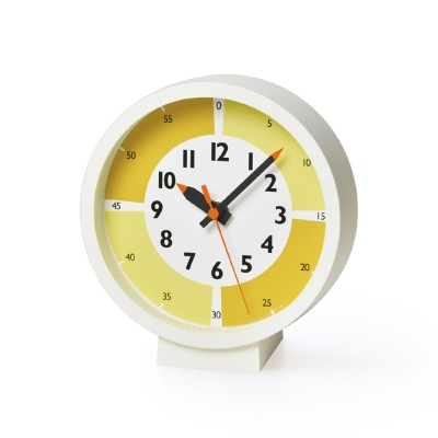 fun pun clock with color! for table