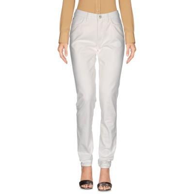 トラサルディ ジーンズ TRUSSARDI JEANS パンツ ホワイト 30 コットン 98% / ポリウレタン 2% パンツ