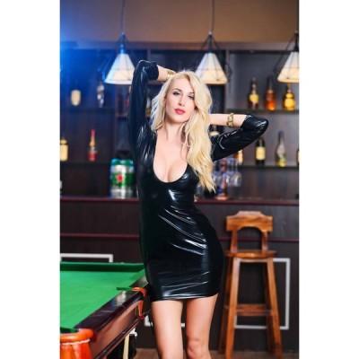 ボンデージ |ドレス コスチューム ボンテージ 衣装 女王様 コスプレ キャットスーツ ワンピース キャットウーマン SM セクシー ボディスーツ エナメル 大人 コス