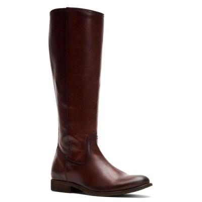 フライ Frye レディース ブーツ シューズ・靴 Melissa Inside Zip Tall Boots Mahogany