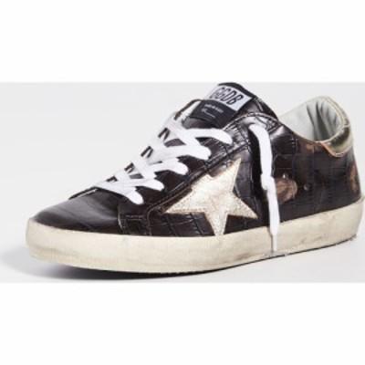 ゴールデン グース Golden Goose レディース スニーカー シューズ・靴 Superstar Sneakers Brown Crocco/Gold