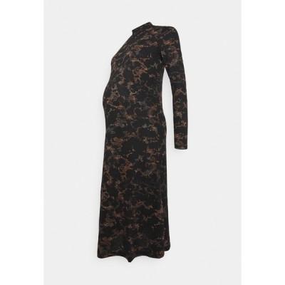 ピーシーズ マタニティ ワンピース レディース トップス PCMSAPPHIRE MIDI DRESS - Jersey dress - black