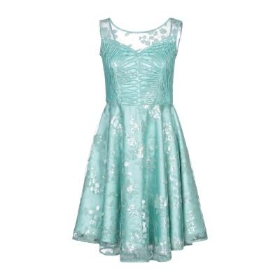 SONIA FORTUNA ミニワンピース&ドレス ライトグリーン 42 ポリエステル 75% / ナイロン 25% ミニワンピース&ドレス