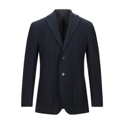 LUIGI BIANCHI ROUGH テーラードジャケット ダークブルー 50 ウール 60% / ポリエステル 40% テーラードジャケット