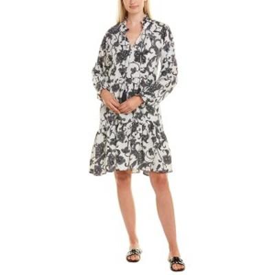 ローラー・ラビット レディース ワンピース トップス Roller Rabbit Silk Dress ivory