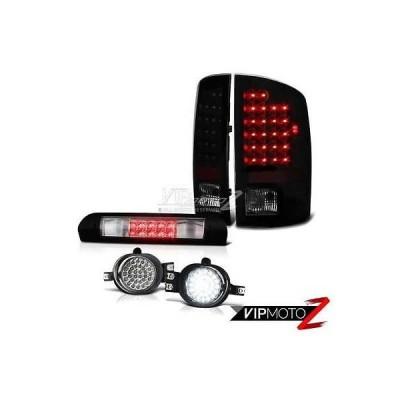 カー用品 パーツ アクセサリー  ライト ヴェノム 06 ダッジラム 3500 シニスター ブラック LED テールライト ワイヤリング+LED フォグ クローム 3rd ブレーキ