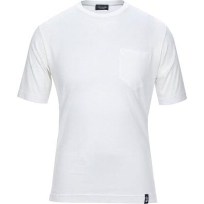 ドルモア DRUMOHR メンズ Tシャツ トップス t-shirt White