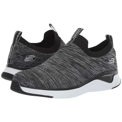 スケッチャーズ Solar Fuse メンズ スニーカー 靴 シューズ Black/White
