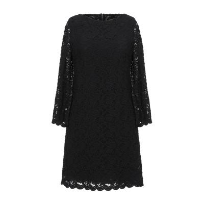 アリス・アンド・オリビア ALICE + OLIVIA ミニワンピース&ドレス ブラック 2 ポリエステル 65% / ナイロン 30% / ポリウ