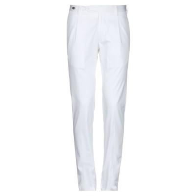 タリアトーレ TAGLIATORE パンツ ホワイト 48 コットン 97% / ポリウレタン 3% パンツ