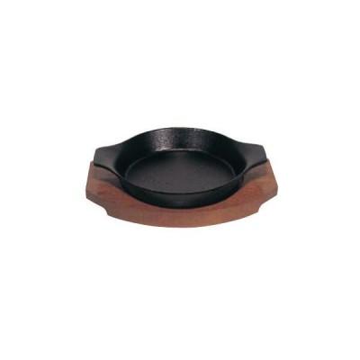 トキワ 鉄 ステーキ皿 306 深型丸 小・15cm
