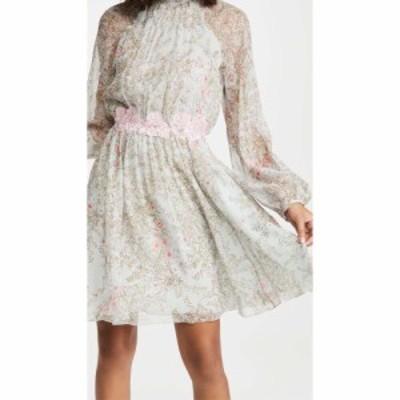 ジャンバティスタ バリ Giambattista Valli レディース ワンピース ミニ丈 ワンピース・ドレス Long Sleeve High Neck Mini Dress Light