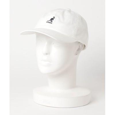 polcadot / [KANGOL]Washed Baseball CAP/[カンゴール]ツイルキャップ MEN 帽子 > キャップ