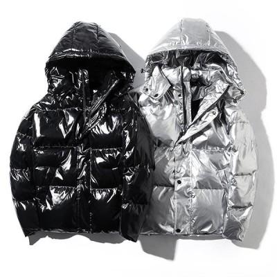 安い フード付き メンズ ダウンコート 中綿コート お兄系コート ショートコート 大きいサイズ 防風 保温 ダウンジャケット 厚手 メンズファッション 通勤 通学