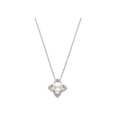 [ヴァンドーム青山] VENDOME AOYAMA PT950 アコヤパール ダイヤモンド ネックレス レディース 女性 APVN194840PA