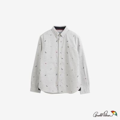 Arnold Palmer -男裝-滿版印花襯衫-灰色