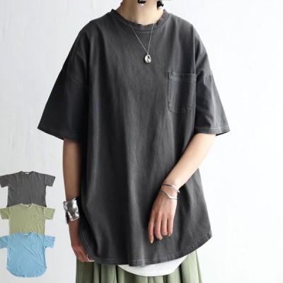 シャツ トップス 綿100% ゆったり Tシャツ おしゃれ レディース