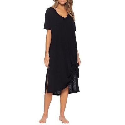 ベッカバイレベッカバーチュー レディース ワンピース トップス Becca By Rebecca Virtue Beach Date Oversized Swim Cover Up T-Shirt Dress