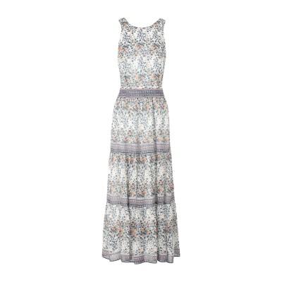 SEA ロングワンピース&ドレス アイボリー 4 レーヨン 100% ロングワンピース&ドレス