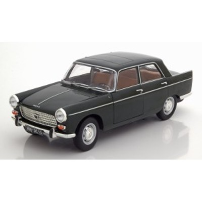 Norev ノレヴ 1/18 ミニカー ダイキャストモデル 1965年モデル プジョー 404 ダークグリーン