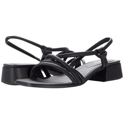 エコー Elevate Square Strap Sandal レディース ヒール パンプス Black Cow Leather