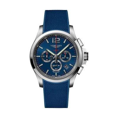 (新品) Longines Conquest V.H.P. Chronograph Quartz Blue Dial Men's Watch L3.727.4.96.9