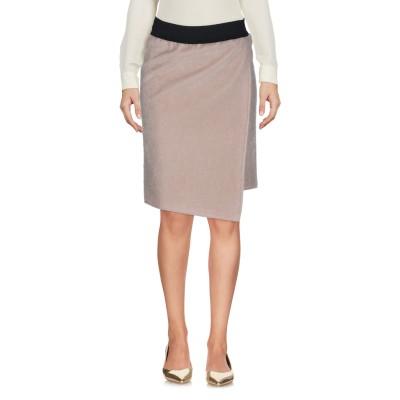 ジジル JIJIL ひざ丈スカート ベージュ S ナイロン 40% / ポリエステル 35% / ポリウレタン 25% ひざ丈スカート