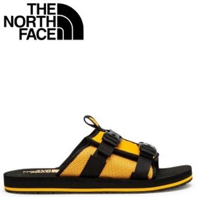 ノースフェイス THE NORTH FACE サンダル スライドサンダル メンズ EQBC SLIDE イエロー NF0A46B3