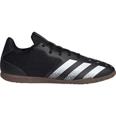 アディダス シューズ レディース サッカー adidas Predator Freak .4 Men's Sala Indoor Soccer Shoes Black/White