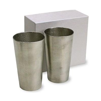 ビアマグ ビアグラス 能作 ビアカップ 2個ペアセット 本錫100% ビアジョッキ