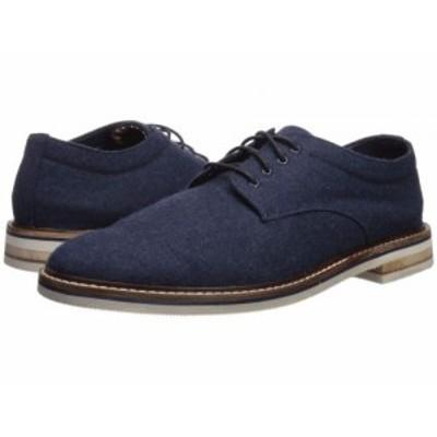 Bostonian ボストニアン メンズ 男性用 シューズ 靴 オックスフォード 紳士靴 通勤靴 Dezmin Plain Navy Wool【送料無料】