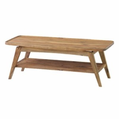 北海道・沖縄・離島配送不可 代引不可 テーブル ヴァルト コーヒーテーブル 110x50x40cm ローテーブル センターテーブル アカシア 天然