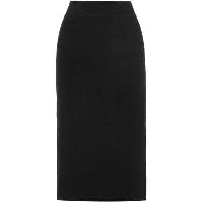ジェームス・パース JAMES PERSE 7分丈スカート ブラック 27 コットン 89% / ポリウレタン 11% 7分丈スカート