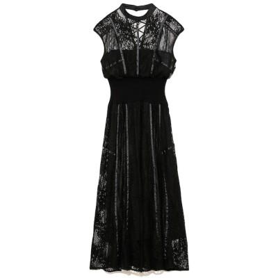 【スナイデル/SNIDEL】 スィッチングレースドレス