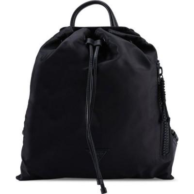 ゲス Guess レディース バックパック・リュック バッグ Kody Drawstring Backpack Black