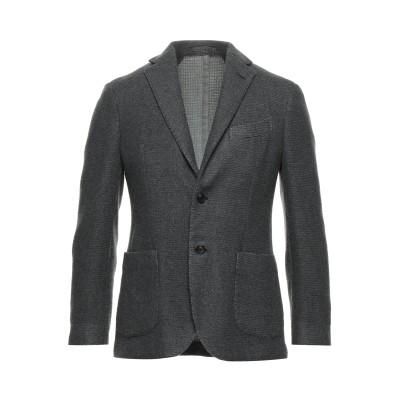 ラルディーニ LARDINI テーラードジャケット 鉛色 50 ウール 91% / ナイロン 9% テーラードジャケット